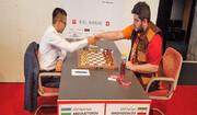 مقصودلو روی سکوی سوم مسابقات شطرنج برقآسای استادان بیل سوئیس ایستاد