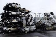 ۵۰۰ خودرو در آتش سوزی مهیب فرانسه سوخت