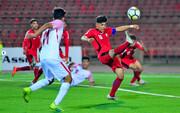 فوتبال قهرمانی آسیای مرکزی- کافا؛ نخستین شکست نوجوانان ایران
