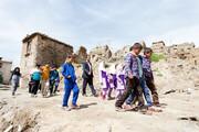حذف مدارس خشت و گلی به کمک خیران