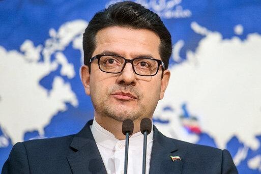 موسوی سخنگوی وزارتخارجه هوم پیج