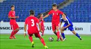فوتبال نوجوانان آسیای مرکزی | کافا؛ شکست تیم ملی ایران مقابل تاجیکستان