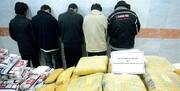باند مسلح قاچاق مواد مخدر منهدم شد | دستگیری ۱۷ نفر