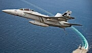 اف-۱۸ آمریکایی در کالیفرنیا سقوط کرد