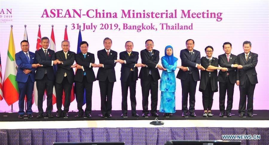 توافق چین و آسهآن برای تقویت روابط