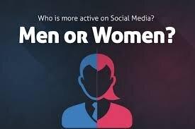زنان بیشتر اهل شبکههای اجتماعیاند یا مردان؟