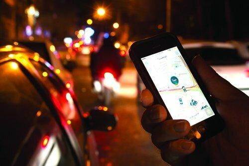 یک بام و دوهوای تاکسی های اینترنتی