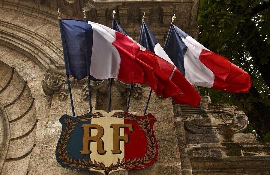 پرچم فرانسه