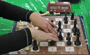 خراسان رضوی قهرمان مسابقات شطرنج بانوان نابینا و کمبینای کشور شد