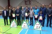 رقابتهای قهرمانی کشور پارابدمینتون مردان به پایان رسید