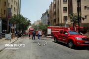 روایت از آتشسوزی در هتل آسمان شیراز