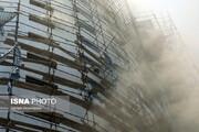 عکس | گزارش تصویری آتشسوزی در هتل آسمان شیراز