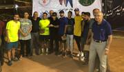 حسام یزدی فاتح رقابتهای تنیس جایزه بزرگ کشور شد