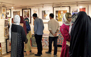 فروش ۳۲ اثر در روز اول |افتتاحیه ۱۳۰ میلیونی صد اثر، صد هنرمند