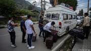 فرار گردشگران از کشمیر بعد از هشدار حمله تروریستی