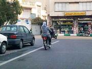 موتور سواری قائم به جنسیت نیست | پلیس برای زنان گواهینامه صادر کند