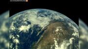 فیلم | نخستین تصاویر سفینه فضایی هندی از کره زمین