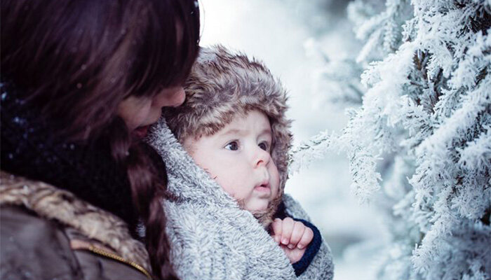 نوزاد و زمستان