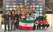چهارمین قهرمانی تیم ملی کشتی فرنگی نوجوانان در رقابتهای جهانی