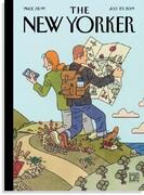 آسیبهای گردشگری روی جلد نیویورکر