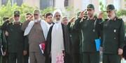 بازدید سرلشکر سلامی از نمایشگاه دستاوردهای دانشگاه جامع امام حسین(ع)