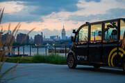 شاتلهای خودران در نیویورک مسافر جابجا میکنند