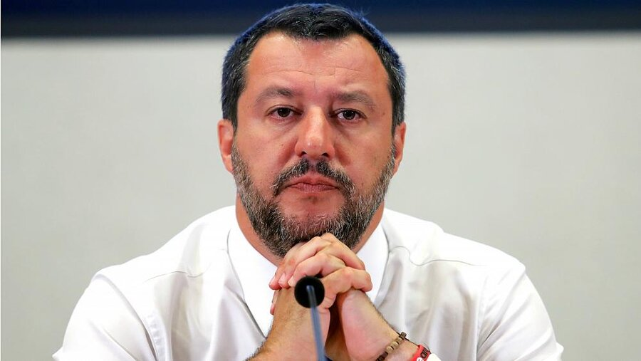 بحران سیاسی در ایتالیا؛ سالوینی از انتخابات زودهنگام سخن گفت