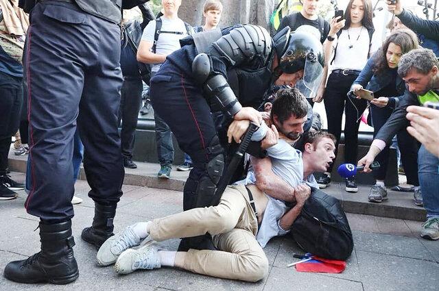 روسيه تظاهرات