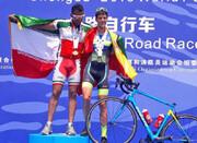 مدال طلای حاجیان در جام جهانی دوچرخهسواری آتشنشانان