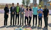 قهرمانی تیم آرشاویر تهران در مسابقات پتانک کشوری بانوان