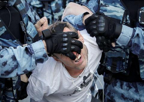 مسکو؛ بازداشت