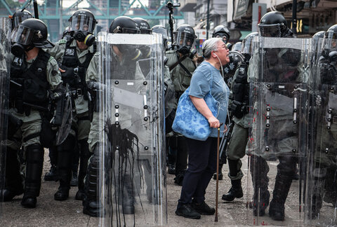 هنگکنگ؛ اعتراض
