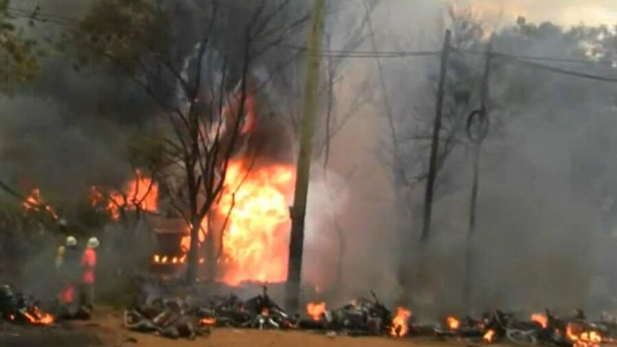 دست کم ۶۰ نفر در پی انفجار کامیون حامل سوخت در تانزانیا جان باختند