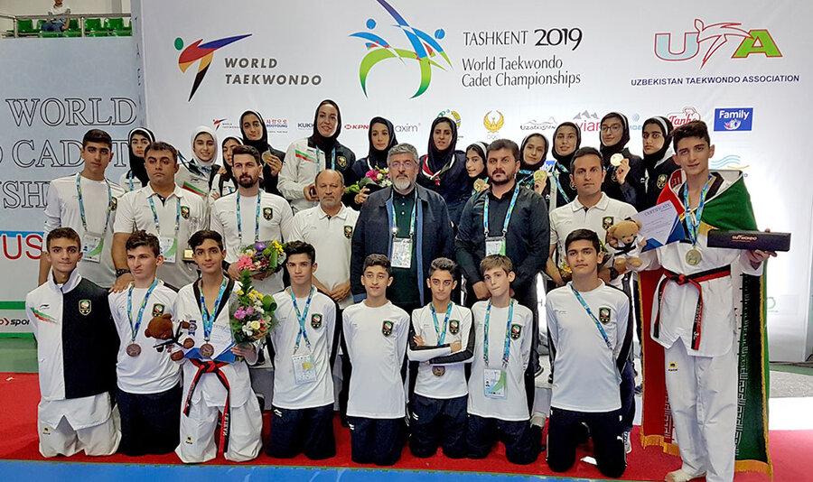 تکواندوی نونهالان جهان؛ قهرمانی دختران و نایب قهرمانی پسران ایران