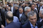 برگزاری مراسم ترحیم نماینده سابق مردم تهران   حضور خاتمی، عرب سرخی، زنگنه و ...