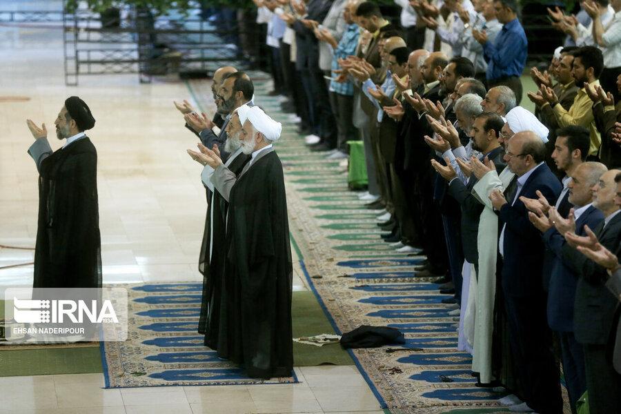 نماز عید قربان در پایتخت اقامه شد
