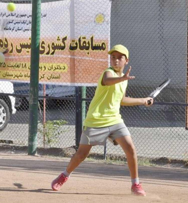 آرزوهای بزرگ تنیسور نوجوان