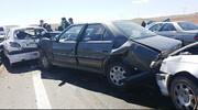 تصادف زنجیرهای در جاده چالوس  با ۱۱ مجروح
