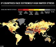 ۱۷ کشور جهان در معرض خطر «روز صفر» بیآبی | ایران در رده چهارم قرار گرفت
