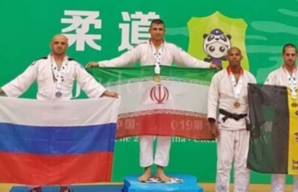 کسب یک مدال طلا و یک نقره جودوکاران در رقابتهای جهانی پلیس