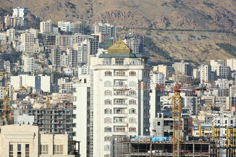 نمای شهر تهران