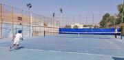 رقابتهای تنیس ردههای سنی برگزار شد