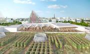 افتتاح بزرگترین مزرعه هوایی دنیا| ۱۴ هزار مترمربع مزرعه شهری در آسمان