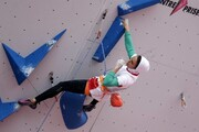 راهیابی الناز رکابی به نیمهنهایی سنگنوردی قهرمانی جهان