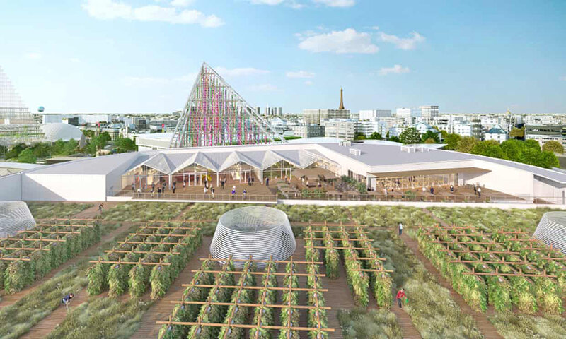 بزرگ ترين مزرعه شهري جهان در پاريس