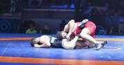 ایران عنوان سوم کشتی آزاد جوانان قهرمانی جهان در استونی را کسب کرد