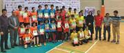 قهرمانان مسابقات بدمینتون نونهالان پسر کشور مشخص شدند