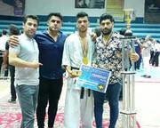 درد دلهای قهرمان مازندرانی کاراته
