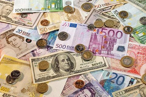 دوشنبه 29 مهر   نرخ رسمی انواع ارز؛ کاهش پوند و یورو
