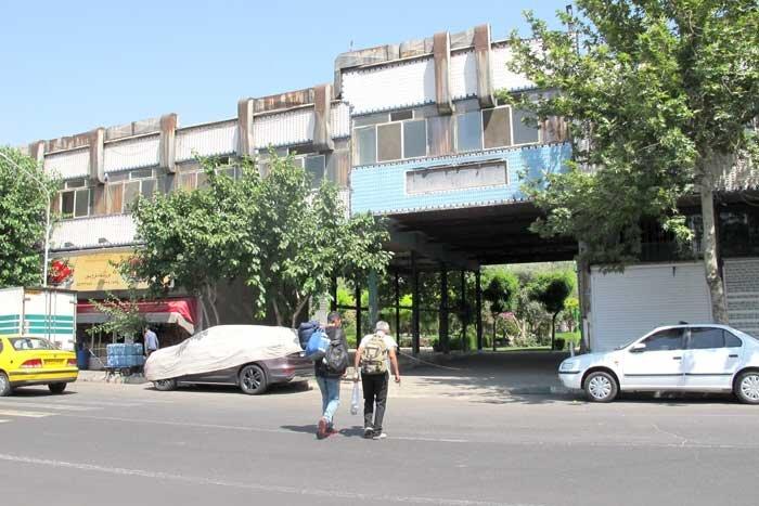 نمای بصری محله انبار نفت